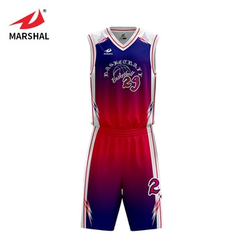 680468e1d39 Colorful Custom Latest Basketball Jersey Uniform Design 2017 To 2018 ...