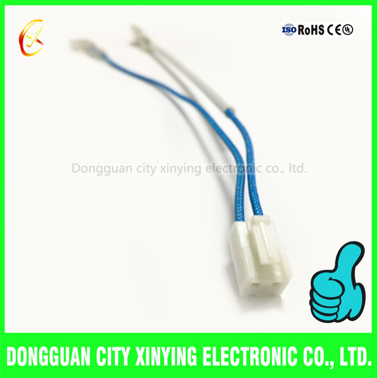 2 Pin 3.96mm Jst Vh Connector To Cold Pressing Terminal Wire Harness ...
