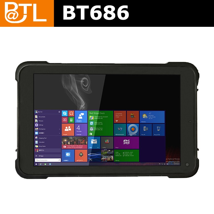 BATL BT686 Rugged Win10 Tablet Pc Sim Card Slot