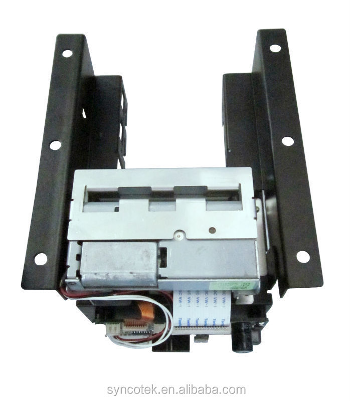 2 Inch USB Parking Kiosk Thermal Printer Auto Cutter Cut Mechanism 58mm Queue Ticket Printer 54mm with PCB Paper Bracket