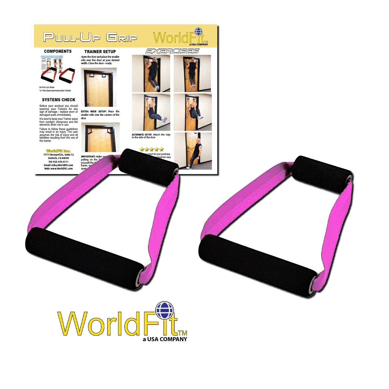 6c75c4a77b5 Get Quotations · WorldFit Pull-Up Grips for Door in Home