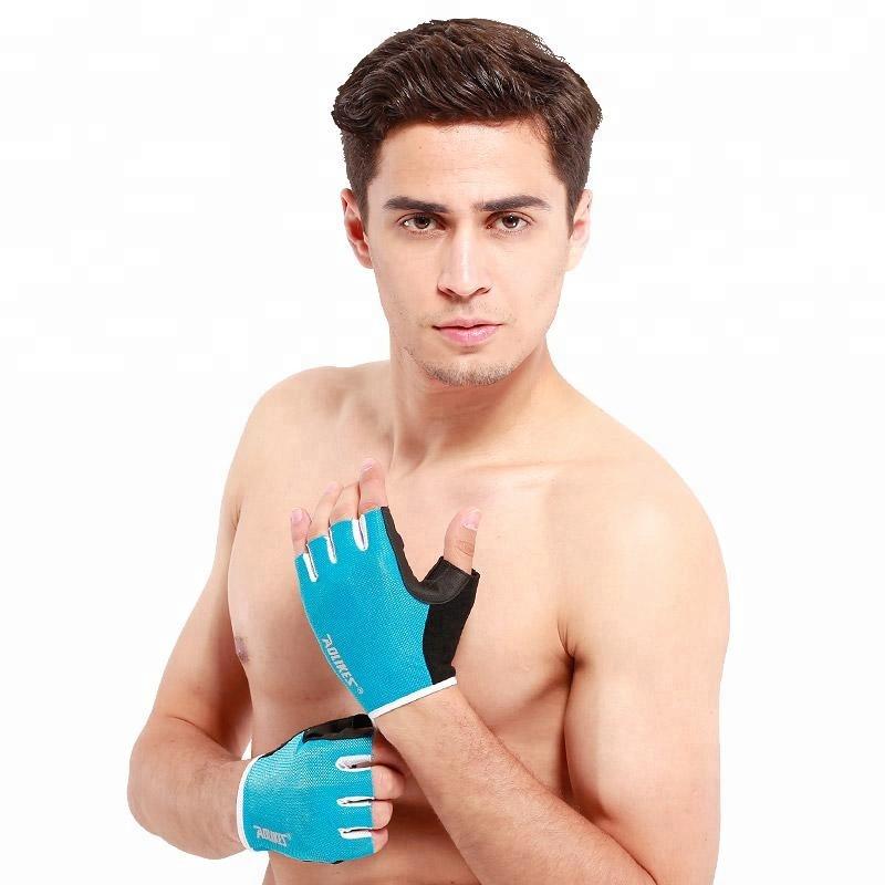 Прочный защитный Фитнес Спорт тренажерный зал перчатки
