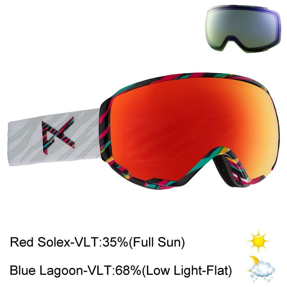 461ff0386603 Get Quotations · Anon Women s WM1 Goggle with Spare Lens