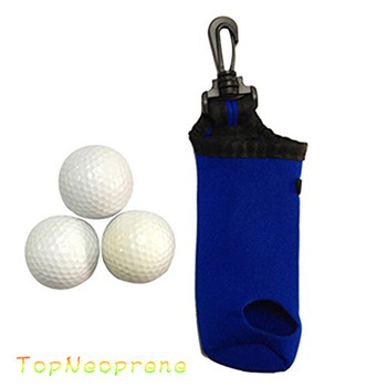Neoprene Min Golf Balls And Tee Holder Bag Buy Mini Golf Ball Bag