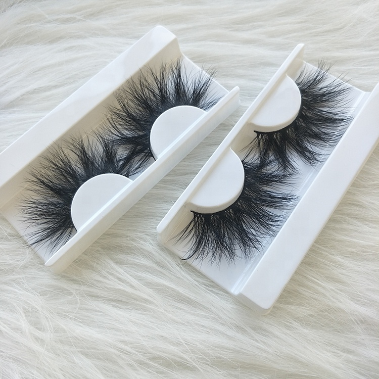 b18db180d8d 6) Private Label Fluffy Mink Lashes 25mm Eyelashes Long 3d. VMAE Siberian  Soft ...