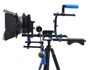 Kernel complete DSLR rig support Matte Box/Follow Focus/Handle Shoulder Pad Rig DSLR rod Support System