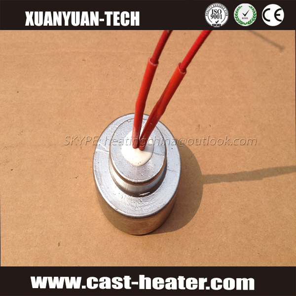 Die casting processing heater elements