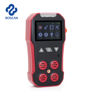 Green house detection usage NH3 CO2 CO Portable multi gas detector 4 gases in 1 detector LCD
