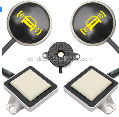 Vehicle Blind Spot Detection System BSD Microwave Radar anti-collision sensor