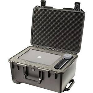 "Pelican Storm Case Im2620 Without Foam . Internal Dimensions: 20"" Length X 14"" Width X 10"" Depth . External Dimensions: 21.2"" Length X 16"" Width X 10.6"" Depth . Hpx Resin . Black . Equipment ""Product Type: Supplies/Shipping & Storage Boxes/Tanks"""