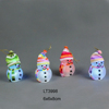 For Sale min order Christmas decor hanging EVA snowman with light and lighting