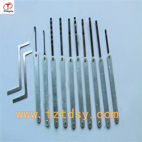 Tongda High quality 10pcs lock pick set locksmith tools