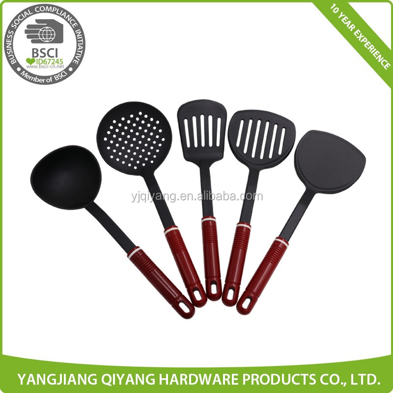 Eco-Friendly Nylon Tools Kitchen Utensils with PP Handle
