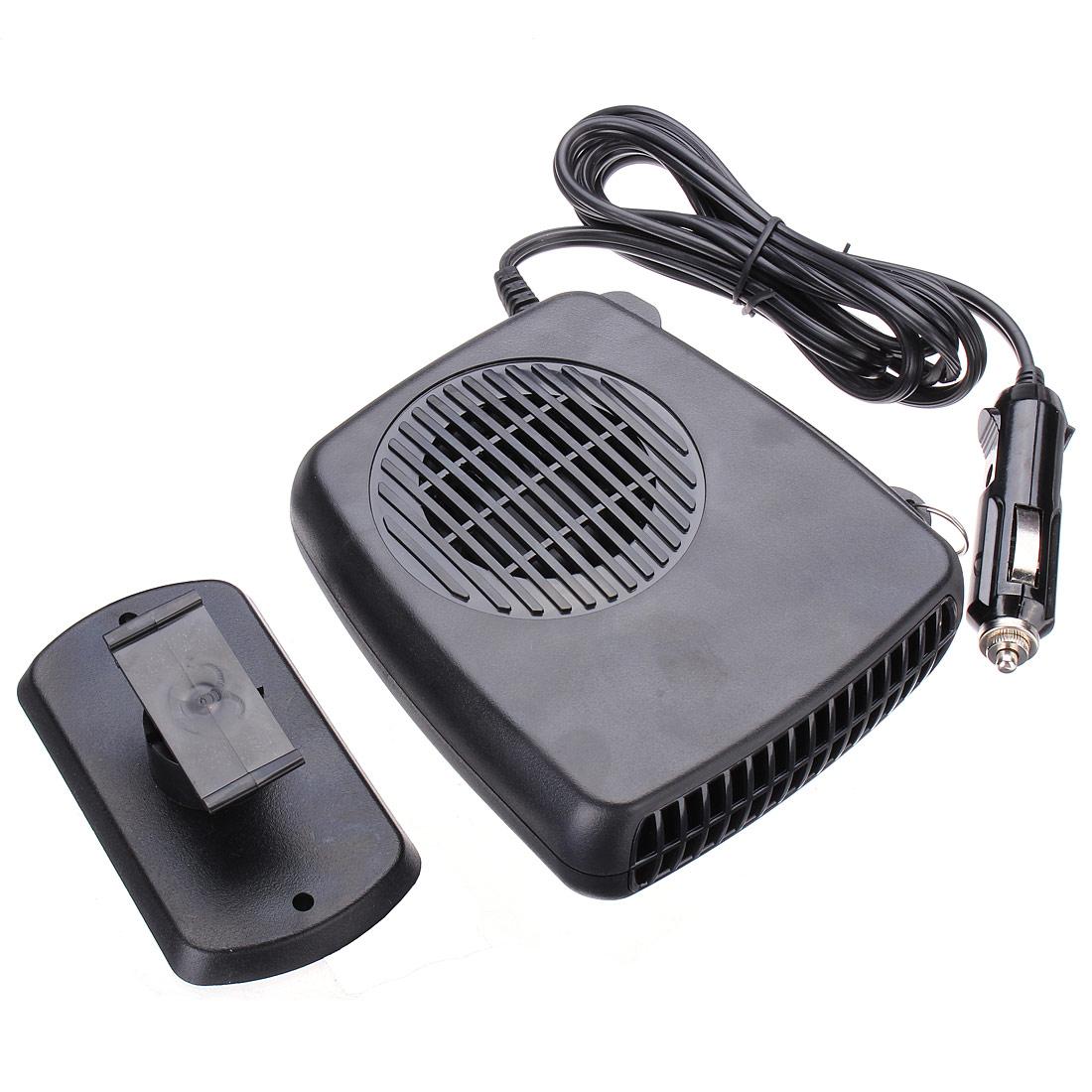 Новое Высокое качество 2 в 1 горячей и холодной 12 В авто портативный керамический нагреватель отопление вентилятор охлаждения стекол черный
