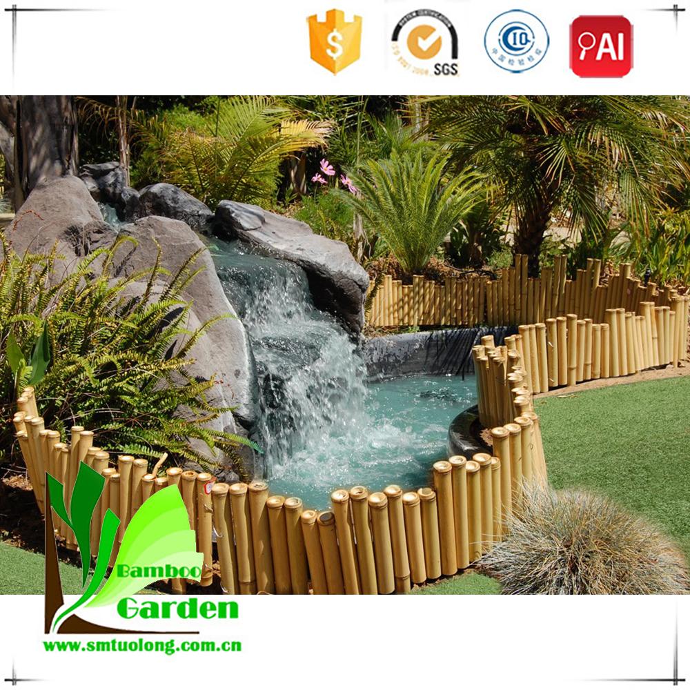 pantalla al por mayor de split cerca de bamb para el jardn patio