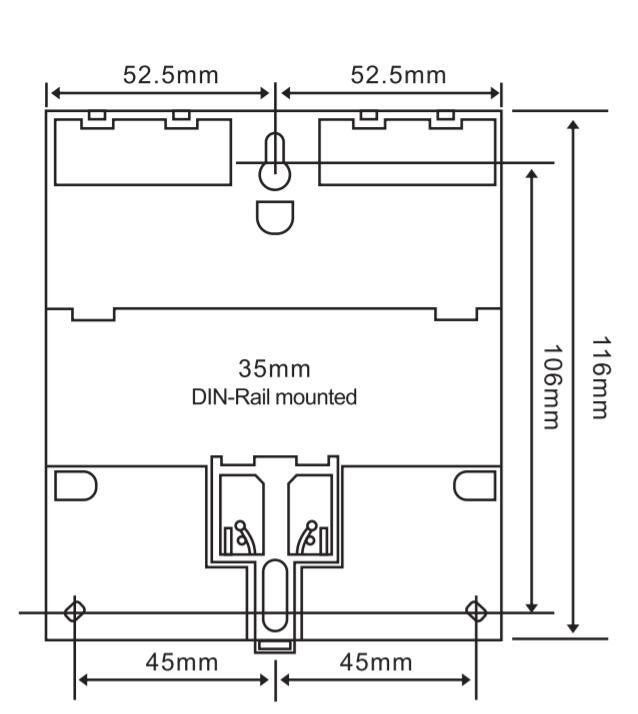 Minuterie puissante de contr/ôle programmable de 380V trois phases