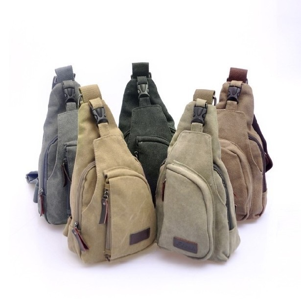 Free shipping boys Fishing Camping Outdoor travel bag mens cross body Single Shoulder Bag mens canvas bags men's bags