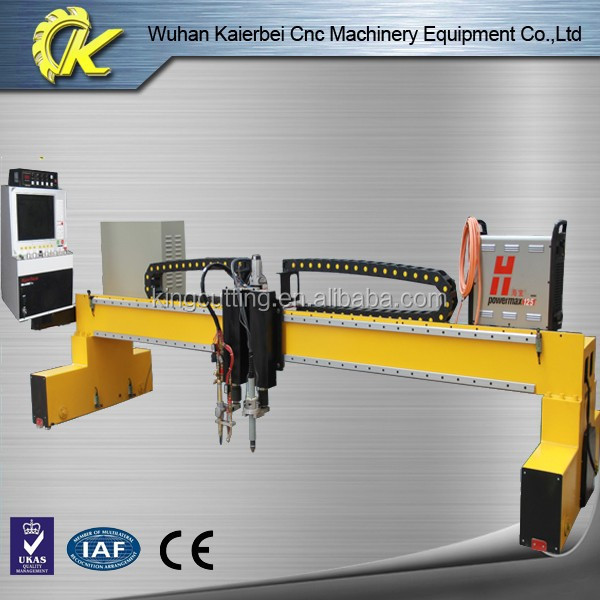 CE low cost aluminium profile cutting machine with plasma auto thc