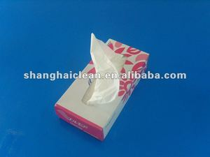 White Fine Box Facial Tissue