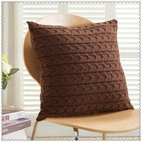----Vintage knitted cushion covers warm memories ... ... Twist of classic styling, personally love this design,pillow cases