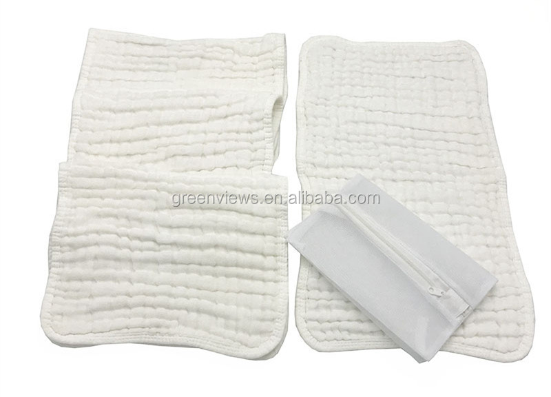 Baby Muslin Washcloths Natural Muslin burp cloths Soft Newborn Baby Face Towel