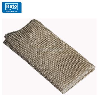 Non Slip Rug Gripper Pvc Foam Pad Underlay Mat For