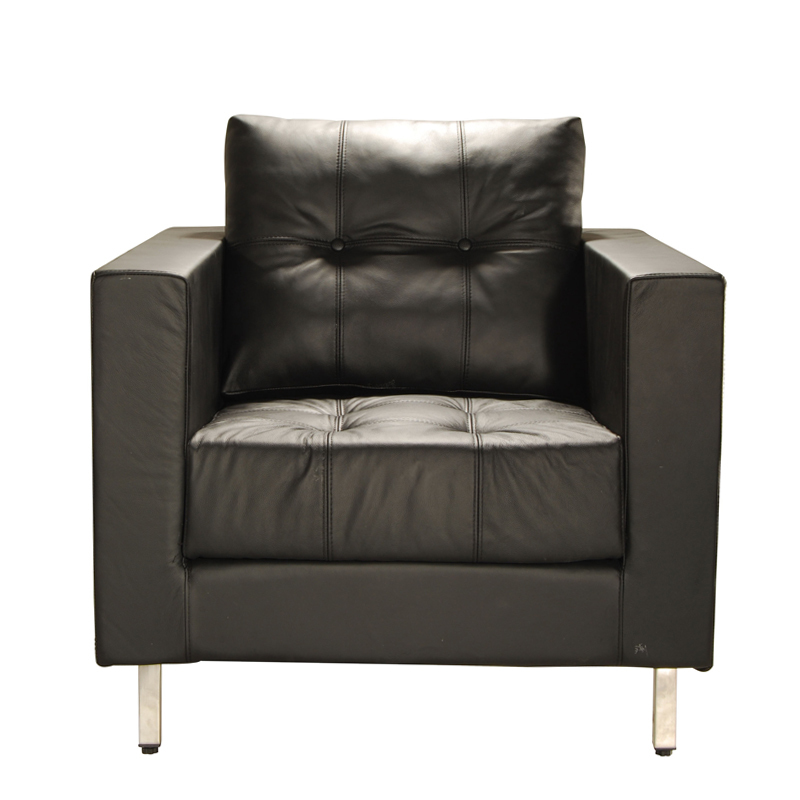 Get Quotations · Cheap SF1746X Small Apartment Leather IKEA Simple And  Stylish Modern European Single Sofa Armrest Shop