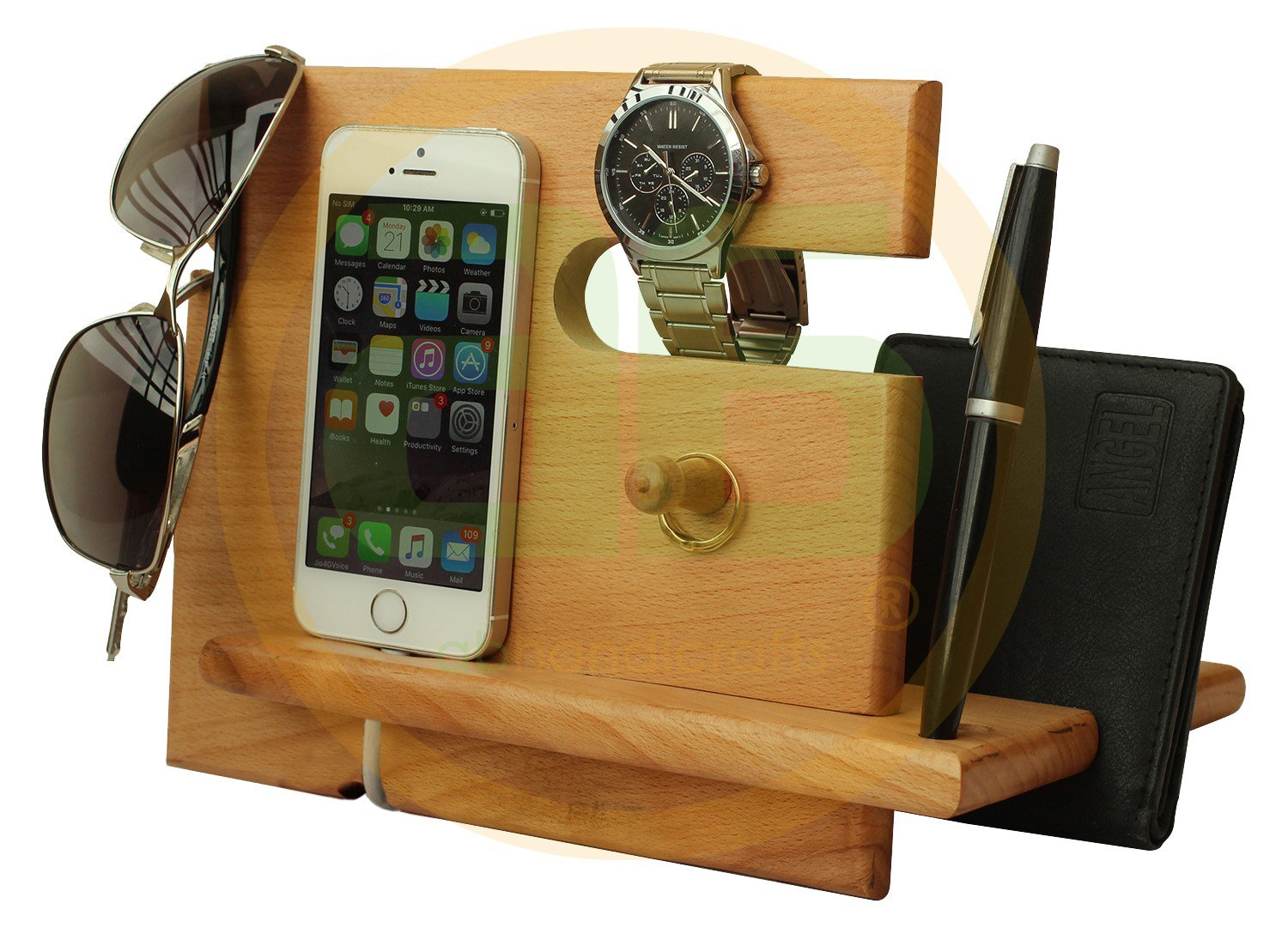 8d83d64fb9bc Get Quotations · Universal Wooden Docking Station