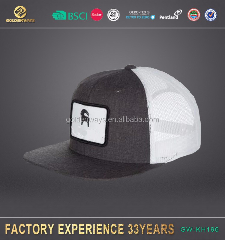 wholesale polyester men's black fitted <strong>hats</strong> caps hot sale