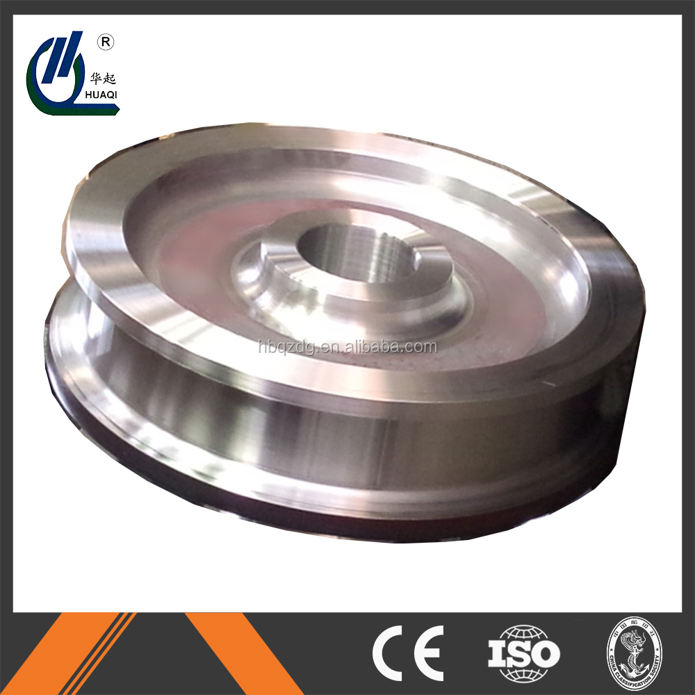Bridge crane forged steel wheel
