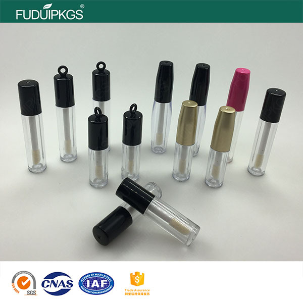 many kind of custom empty unique plastic make up mini lip balm gloss tube
