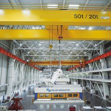 double girder bridge crane overhead crane parts description