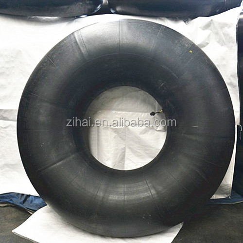 Factory used natural rubber 23.5-25 OTR tire tyre inner tube with TRJ1175C valve