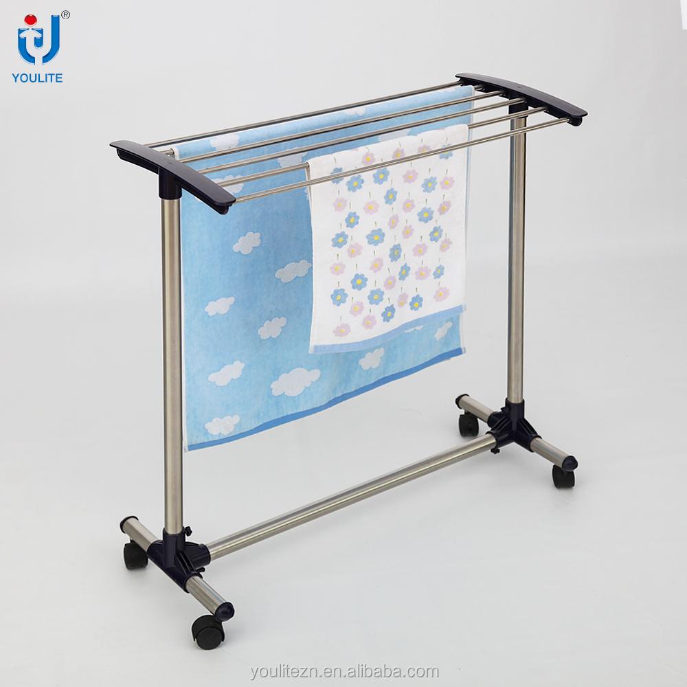 Movable High Quality Bathroom Towel Rack Stand - Buy Bathroom Towel ...