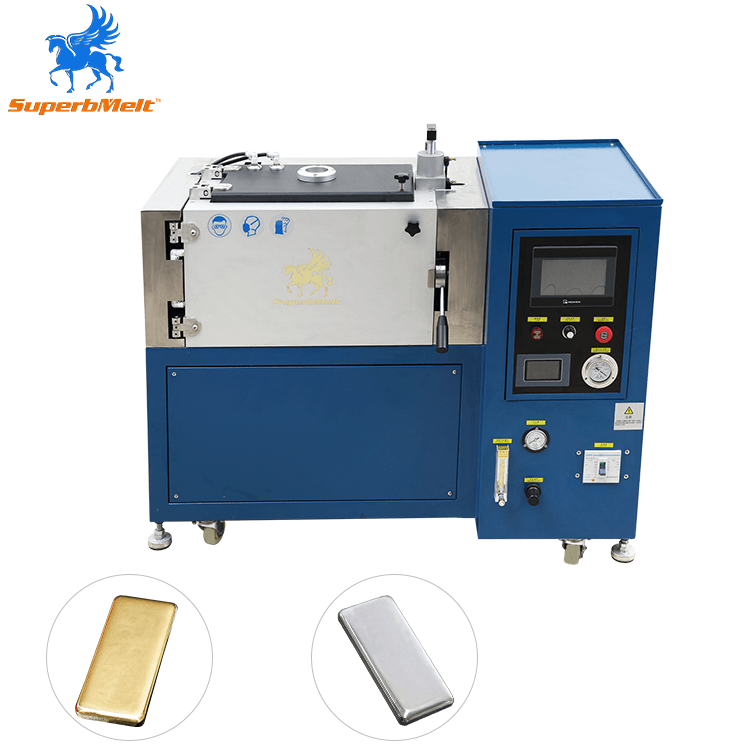 Latest PLC silver and gold bar making machine