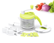 Multifunctional Kitchen Food Processor - Plastic Shredder - Manual Onion Chopper - Vegetable Pro Slicer - Kitchen Accessories