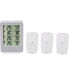 Digital Max / Min Environment Temperature LCD Thermometer Hygrometer Wireless Different Types of Thermometer