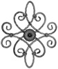 2017 hot sale factory price Decorative ornamental wrought iron