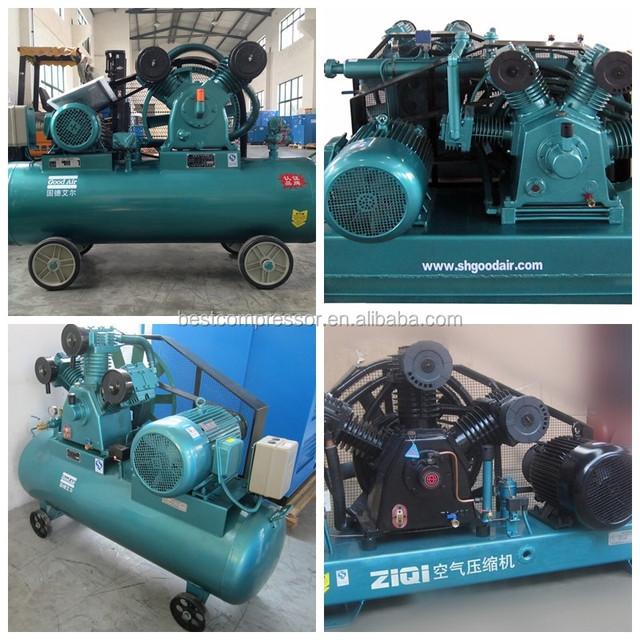 cheap high pressure portable air compressor 500l for mining