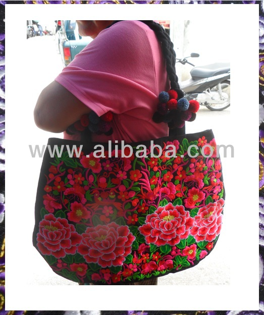 Hmong bag from Thai hill tribe wholesale price direct from maker $9.99