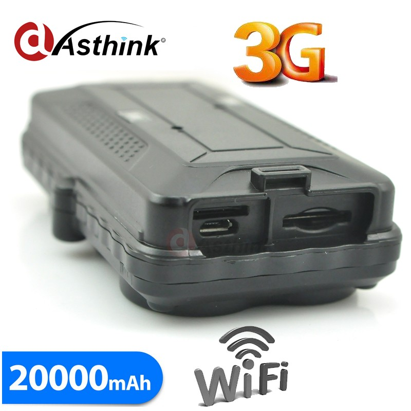 3G Tracker 20000mAh Lithium battery gsm tracker n9 on app Tracking of China