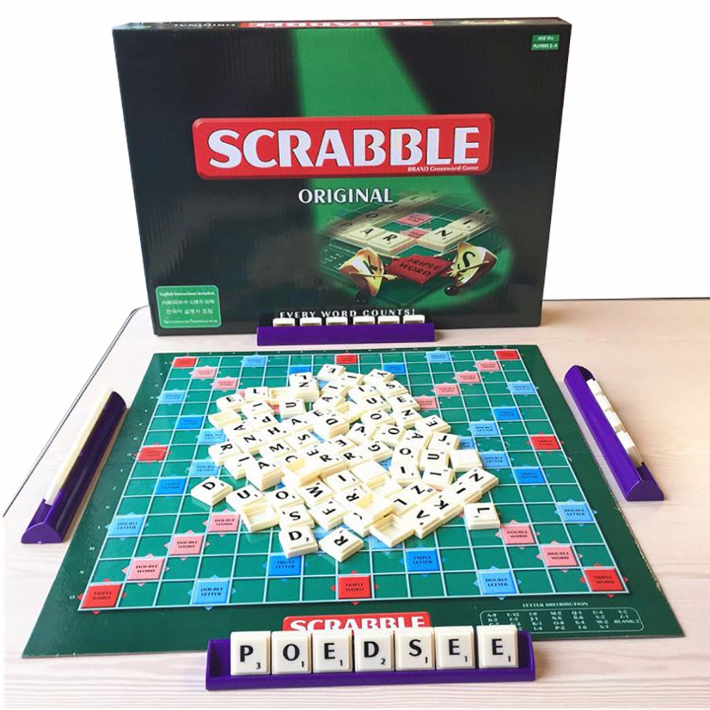 china cool english scrabble tiles toy game