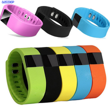 New Hot Sale TW64 Smartband Waterproof Wristband Fitness Sleep Tracker Pedometer Bluetooth 4.0 For Samsung iPhone IOS Android