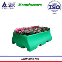 High Quality Outdoor Large Metal Rectangular Flower Planter