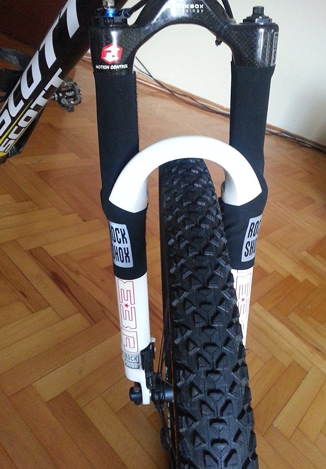 Rock Shox Cycling Bicycle Bike MTB Front Fork Suspension Protector Pad Cover