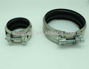 b type sewage clamps stainless steel tubing clamps