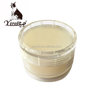 Plastic box shoe cream for leather shoes care shoe cream