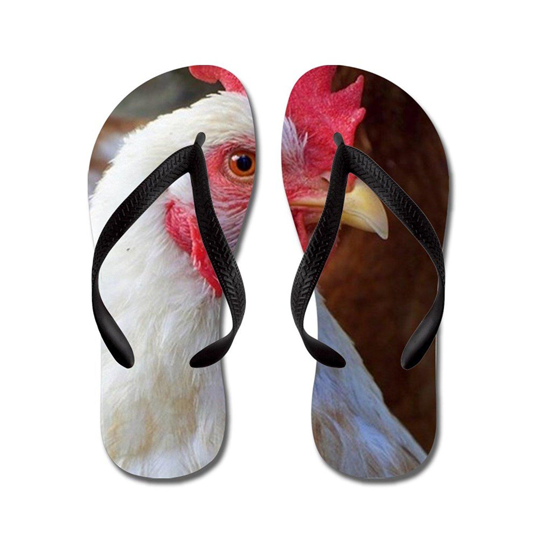 fe71cfc447deb Get Quotations · CafePress Italian Chicken - Flip Flops