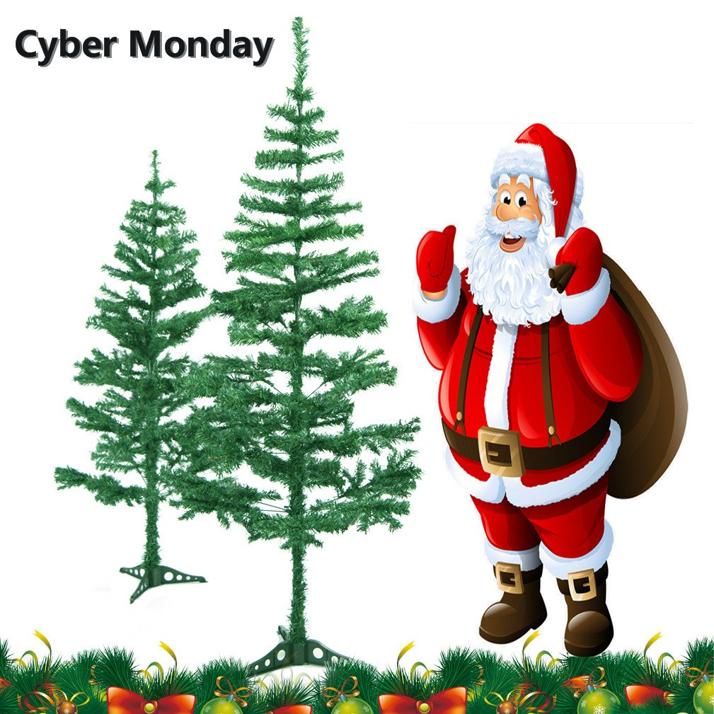 get quotations christmas tree 6 foot artificia christmas trees with stand national dunhill fir christmas tree christmas decorations - Cyber Monday Christmas Decorations