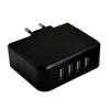 5v4.8a four ports smart wall charger